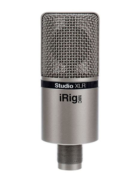Irig Mic Studio ik multimedia irig mic studio xlr thomann uk