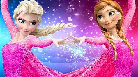 Frozen In Pink by Frozen Elsa Finger Family Songs Pink Spidergirl
