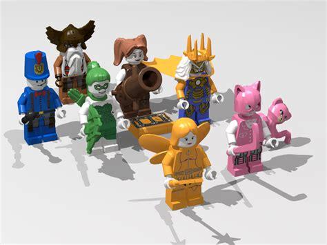 mainan mobile legend mobile legends lego toys