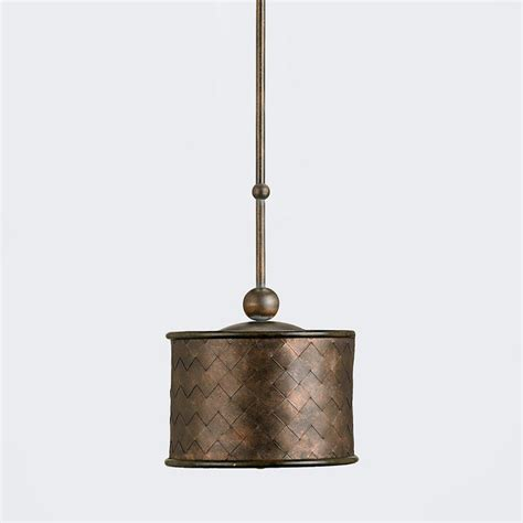 Basket Pendant Light Basket Weave L Contemporary Pendant Lighting By Terrain