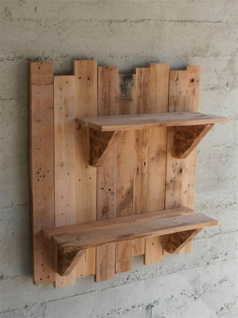 pallet wall shelves pallet wall shelves pallet shelves