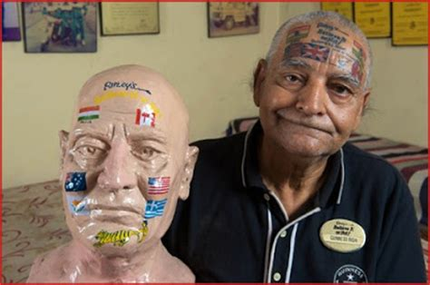 weird tattoos on private parts guinness rishi getting tattoos of all national flags on