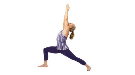 yoga warrior warrior i pose virabhadrasana i yoga journal