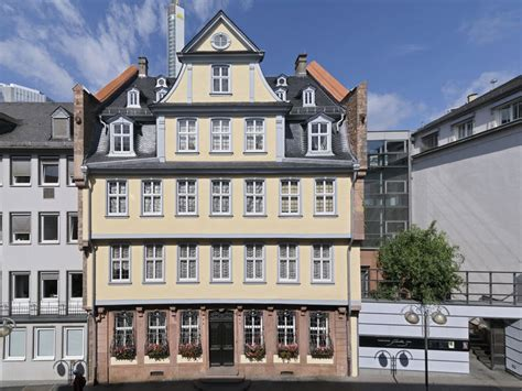goethe haus frankfurt goethe museum und goethe haus frankfurt tourismus