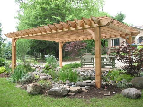 Big Kahuna Cedar Pergola Kit For The Home Pinterest Covered Pergola Kits