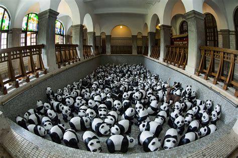 design and build procurement hong kong 1 600 papier mache pandas to pop up at hong kong landmarks
