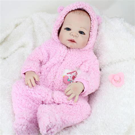 Sale Baby Doll Dewasa 1 22 inch 55cm silicone reborn baby doll brinquedos lifelike interactive baby dolls for