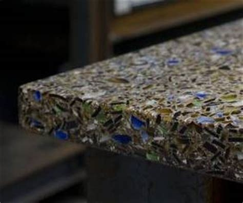 recycled glass countertops vetrazzo