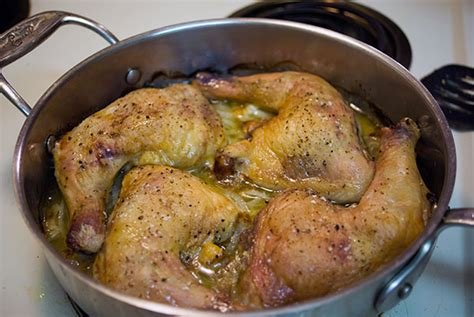 baked chicken leg quarters with braised onions a one dish wonder
