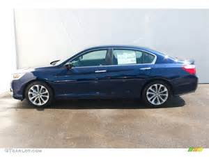 2013 obsidian blue pearl honda accord sport sedan