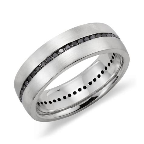 Wedding Bands With Black Diamonds by Black Rings For Eternity Jewelry