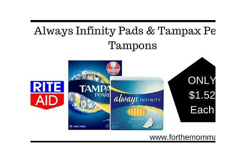 coupons for always infinity pads 2018