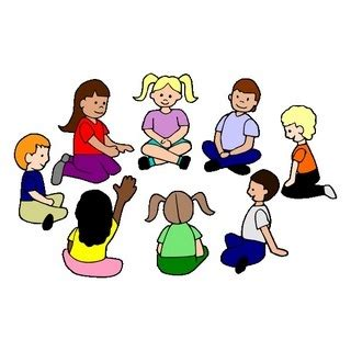 Circle Time Clipart children sitting in a circle clipart clipartsgram