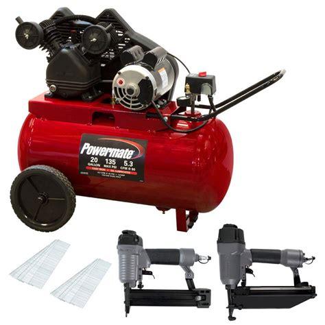 20 gal air compressor