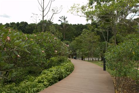 singapore botanical garden map facts location
