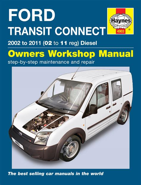 haynes workshop repair manual for ford transit connect diesel 02 10 ebay