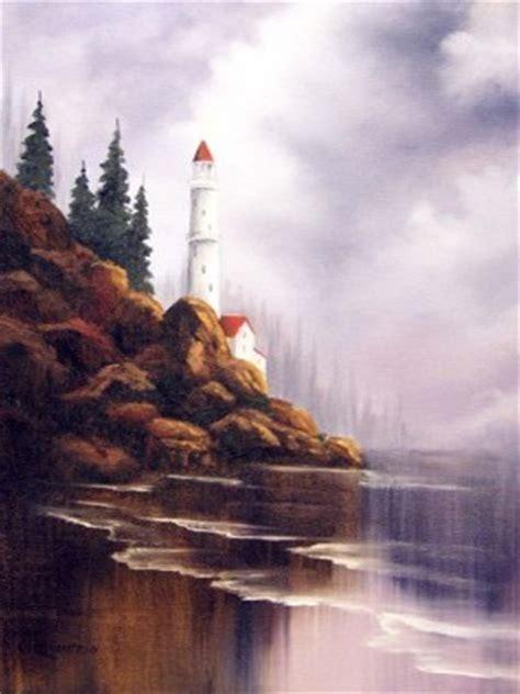 bob ross painting lighthouse suppliesfor