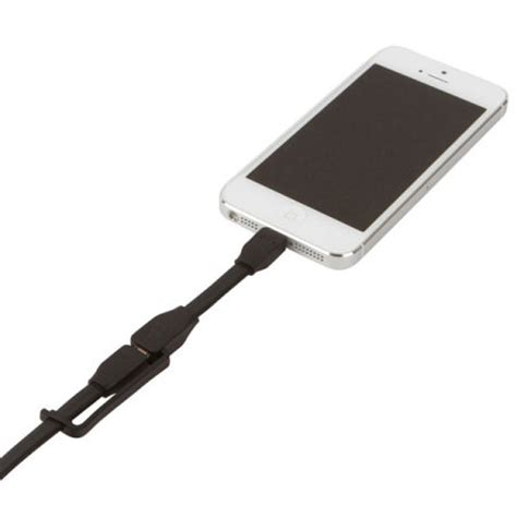 Cabstone Syncable Micro Usb Black tylt syncable duo charge sync cable black
