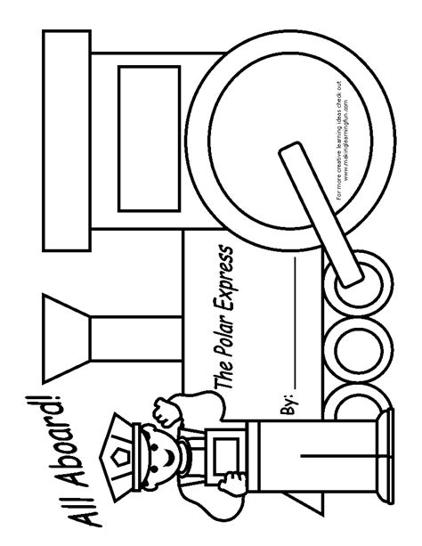 Free Coloring Pages Of The Polar Express Polar Express Coloring Pages Free