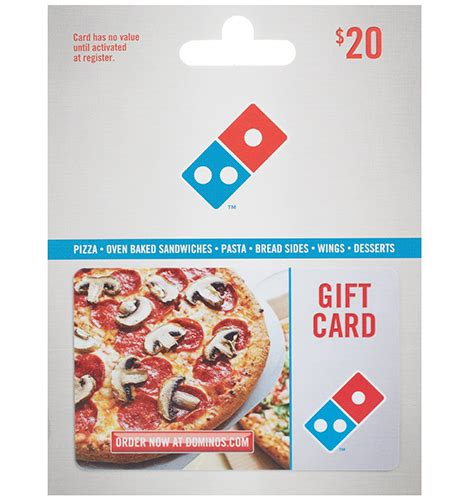 Buy Dominos Gift Card - domino s pizza gift card loadable luxury