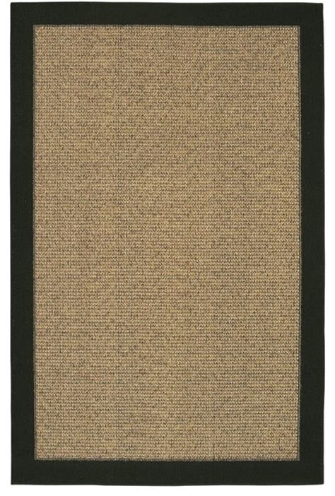 solid rugs with border mohawk raffia reed solid border 5 x 8 rug 6339 modern rugs by rug lots area rug