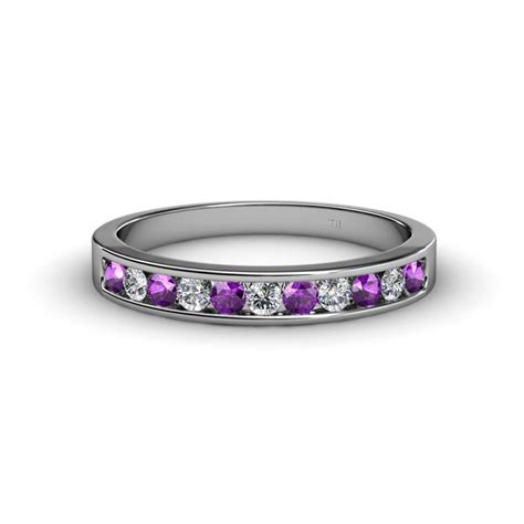 ryann amethyst and wedding band amethyst and