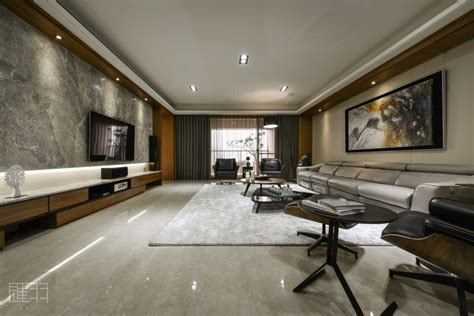 wood and earthy colour palette modern apartment by hsiao of hui yu interior design