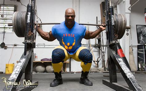 ronnie coleman bench 1 tip to fix your squatting woes nufit