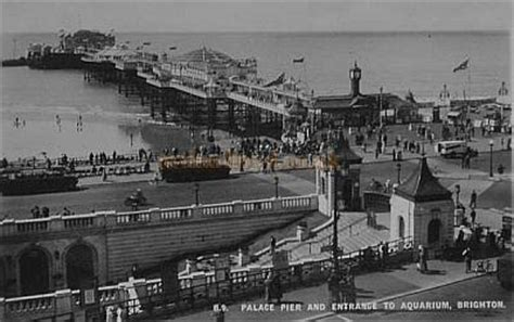 the palace pier and theatre brighton later brighton pier the palace pier and theatre brighton