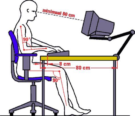 kantoorstoel op maat werkplek