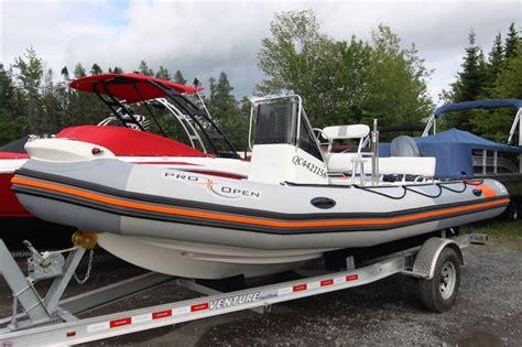 zodiac boat quebec zodiac pro open 650 2014 used boat for sale in rivi 232 re du