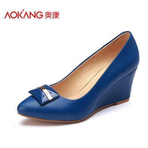 pumps that are comfortable aokang 2016 new arrival women shoes genuine leather