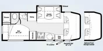 Navion Rv Floor Plans by 2008 Itasca Navion Series M 24j Dodge Sprinter Diesel