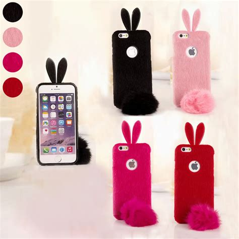 I Phone 7 Rabbit 1 bunny rabbit soft back protector cover skin for