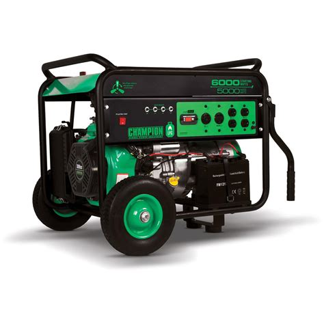 portable propane generator chion 71330 propane powered 6 000 watt portable