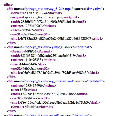 xml metadata tutorial how archive org items are structured internet archive blogs