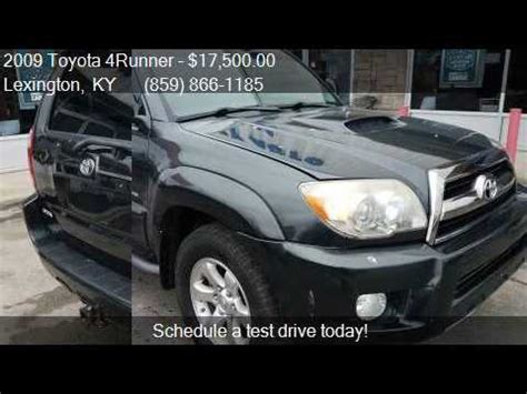2009 toyota 4runner sport 2009 toyota 4runner sport edition 4wd v6 for sale in