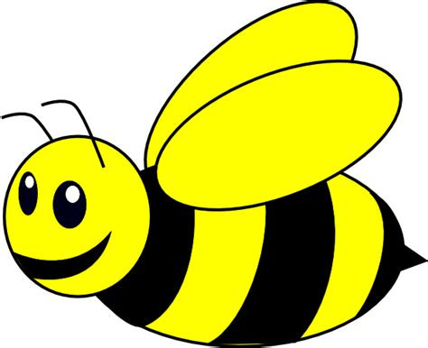 Clipart Of Bumble Bees bumble bee yellow clip at clker vector clip