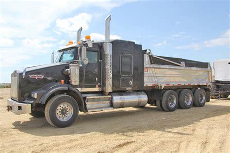 Dump Truck With Sleeper by 2010 Kenworth T800 Tri Axle Dump Truck Camex Equipment