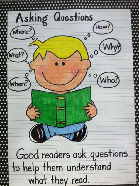 anker englisch asking questions anchor chart anchor charts language