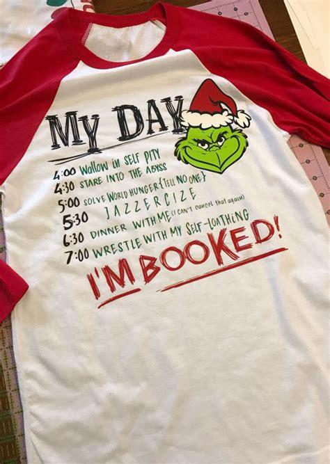 Booked A M A grinch i m booked baseball t shirt fairyseason