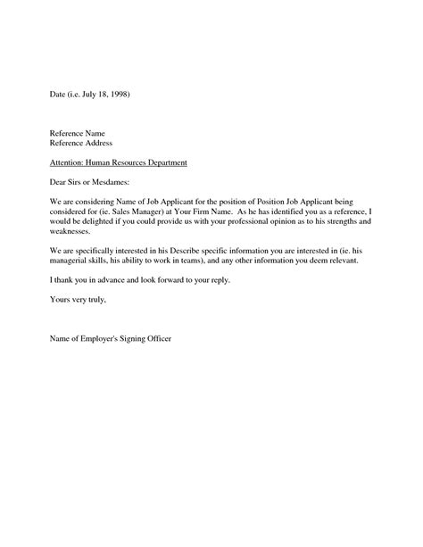 Request Letter Of Recommendation From Employer Requesting A Letter Of Recommendation From Previous Employer Cover Letter Templates