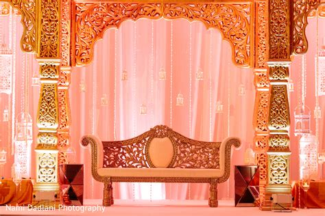 Indian Wedding Backdrop by Floral Decor In Orlando Fl Indian Wedding By Nami