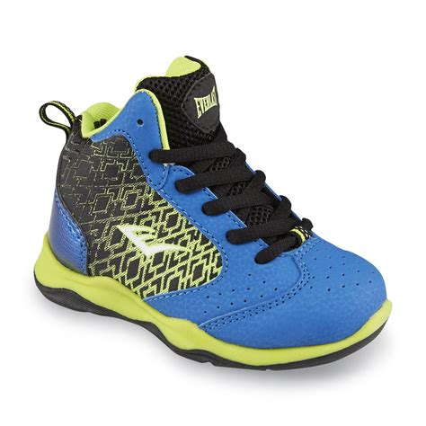 everlast basketball shoes everlast 174 toddler boy s code blue green black basketball