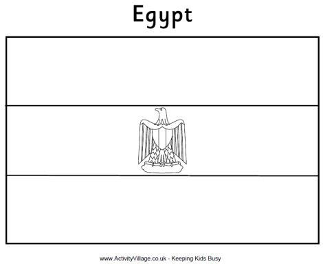 coloring page egypt flag egypt flag colouring page
