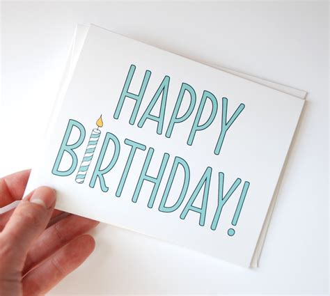 simple birthday cards to make birthday card simple birthday card happy birthday card