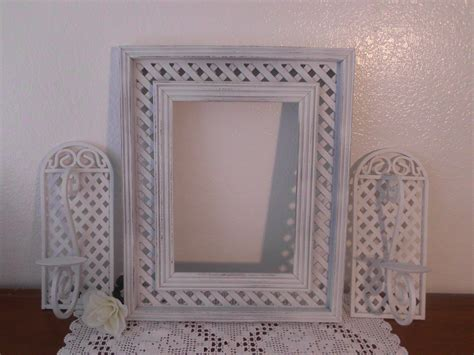 Frame Set Large White Shabby Chic Distressed Beach House Shabby Chic Frames For Sale