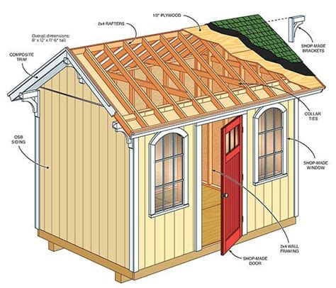 plans for garden shed free 6 195 6 garden shed plans free shed plan