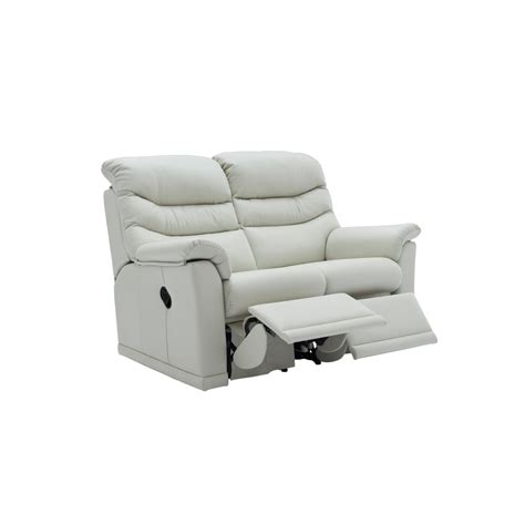 two seater electric recliner sofa g plan malvern 2 seater leather electric recliner smiths