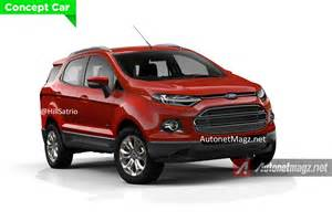 Ford 7 Seater Will You Buy A 7 Seater Ecosport Render Pics
